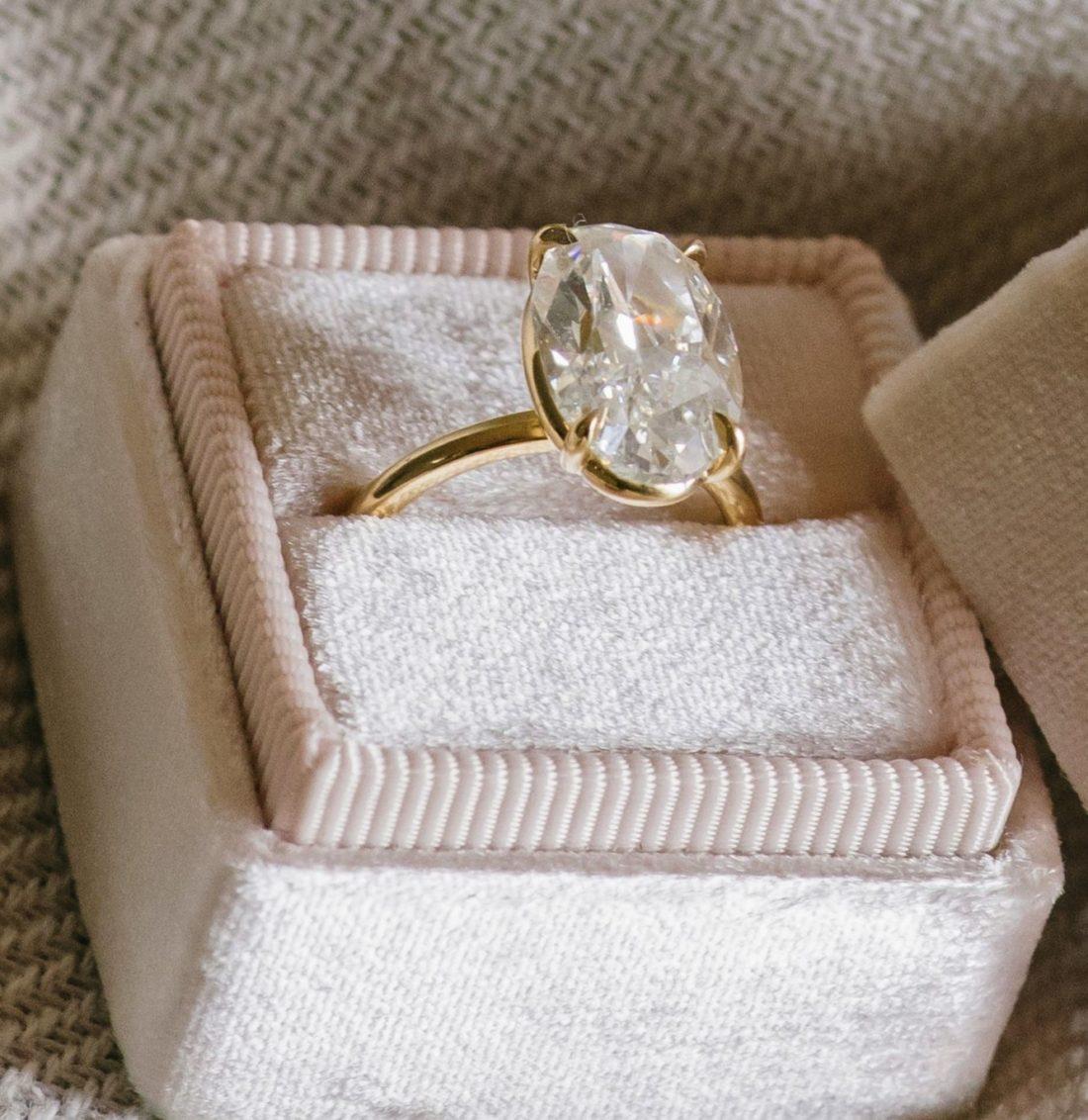 Куда сдать кольцо с бриллиантом с оценкой
